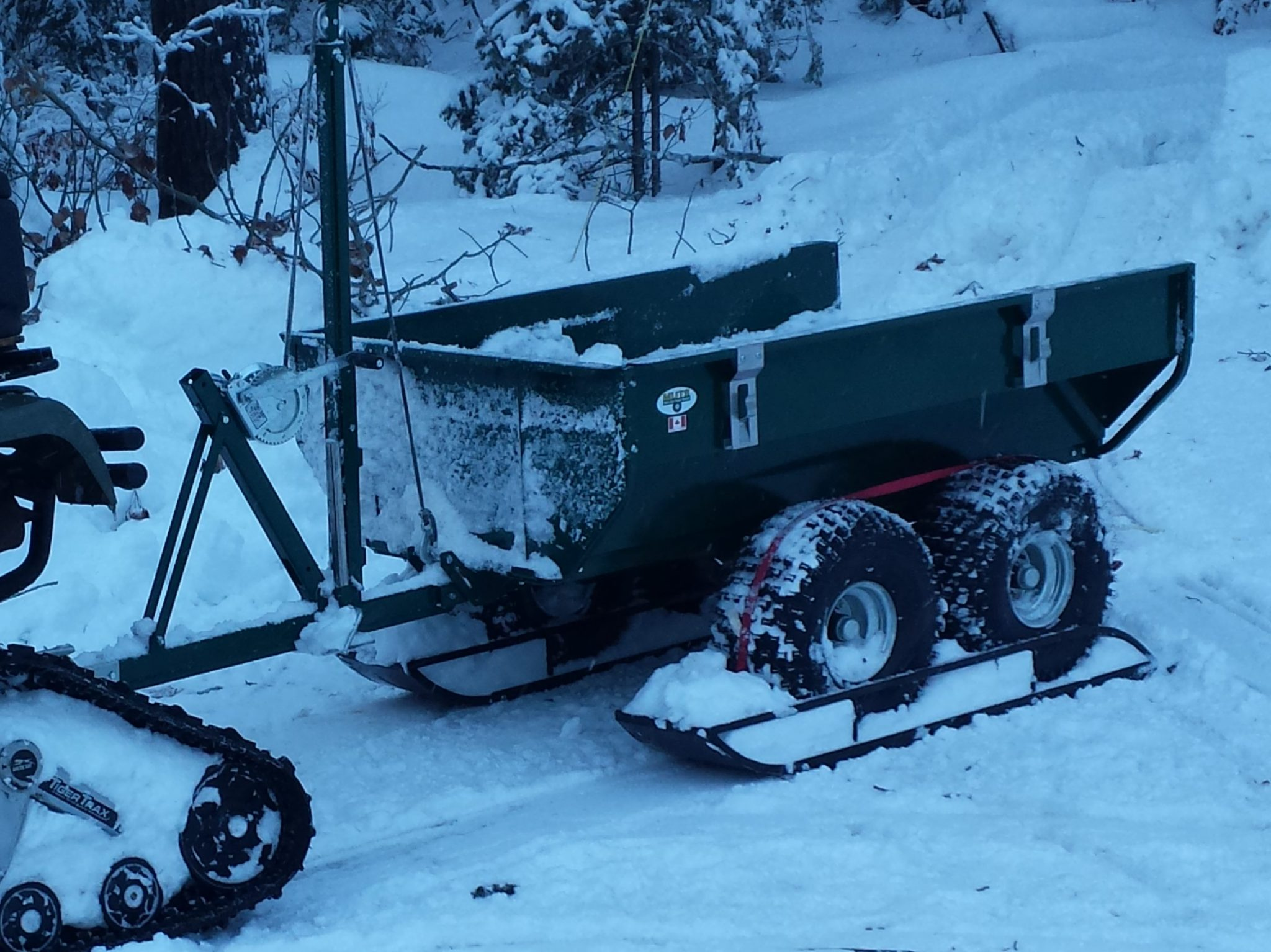 Muts The Swiss Army Knife Of Atv Work Trailers The