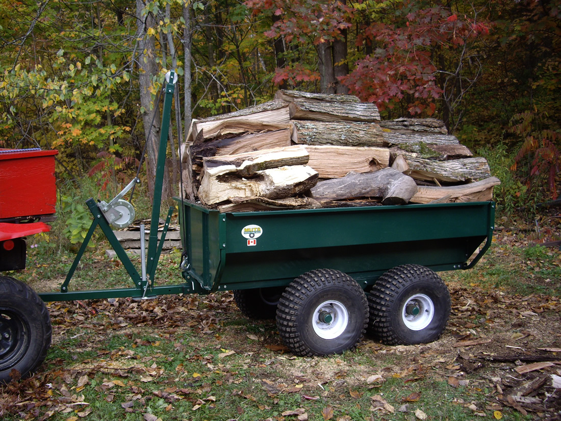 Muts The Swiss Army Knife Of Atv Work Trailers The Best Atv
