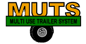 "MUTS – The ""SWISS ARMY KNIFE"" of ATV work trailers Logo"