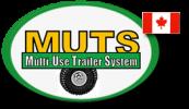 "MUTS – The ""SWISS ARMY KNIFE"" of ATV work trailers Logo"